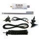 RTL-SDR Blog V3 R820T2 RTL2832U 1PPM TCXO SMA Software Defined Radio 500 kHz to 1.7 GHz with Dipole Antenna Kit.