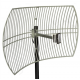 2.4 GHz 24 dBi WiFi Parabolic Grid Antenna for Eshal2 (QO-100 Satellite)