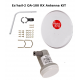 Eshail-2 Satellite Antenna Kit with LNB (80cm)