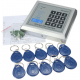 Door Lock Access Control System RFID Proximity Entry + 10 Keys (500 User)
