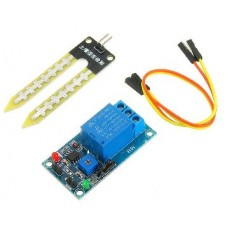 DC 12V Relay Controller Soil Moisture Humidity Sensor Module Automatically Watering