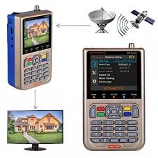 GTMEDIA V8 Finder Satellite Finder DVB-S2/S2X Digital High Definition Sat Finder DVB S2 HD 1080P Satellite Meter Satfinder