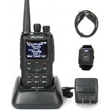 Anytone AT-D878UV PLUS DMR dual band two way radio with GPS and Bluetooth