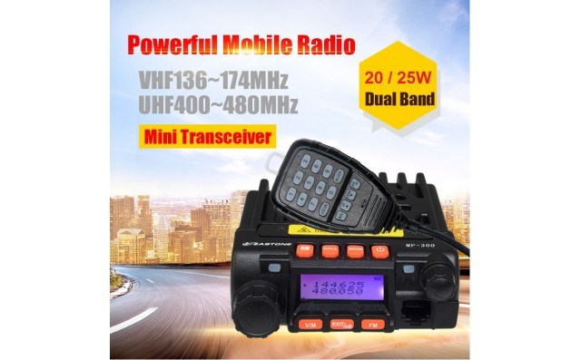 Zastone MP-300 Mobile VHF UHF Transceiver