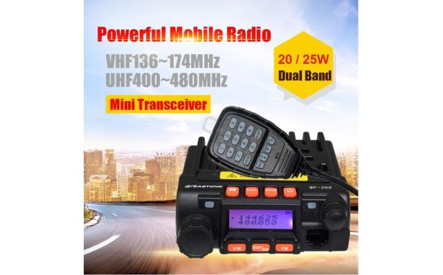 Zastone MP-300 Mobile VHF UHF Transceiver