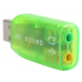 USB 2.0 To 3d Audio Sound Card Adapter Virtual 5.1 CH