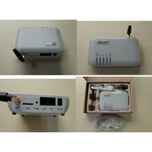 VOIP GSM to Sip Gateway 1 Port GOIP (GSM trunk interface) with SMS