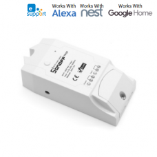 Wifi remote Sonoff TH10 - Temperature And Humidity Monitoring Smart Switch