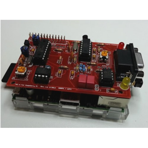 TNC-pi for Raspberry Pi (Packet radio) AX25 (Asembled and