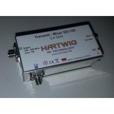 QO-100, Eshail, Es'hail, Hailsat, AMSAT, P4-A, Upconverter 2,4 GHz,S Hail