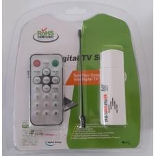 RTL2832U FC0013B Dongle (FM, DAB, USB, DVB-T)  SDR Frequency 22 - 1100 MHz
