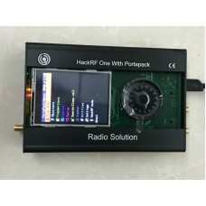 HackRF One SDR + Metal Case +TXCO + Havoc Firmware Programmed