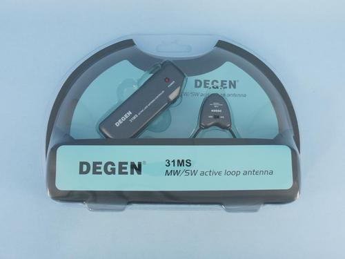 DEGEN 31MS Active Loop Antenna