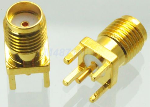 Connector Sma Female Jack Solder Pcb Mount Straight 5 08mm