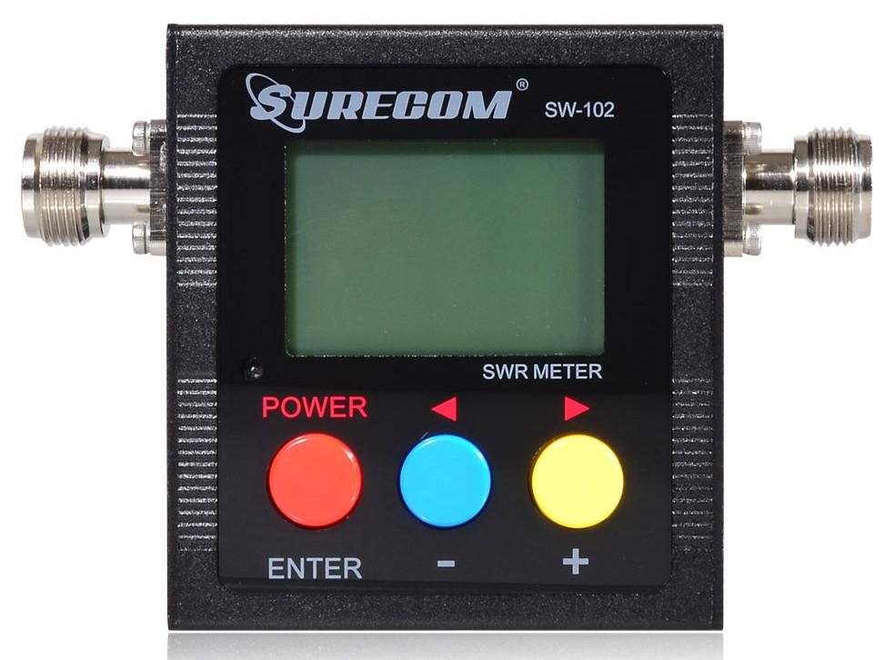 SW-102 Digital Antenna Power & SWR Meter VHF/UHF 125-525MHz