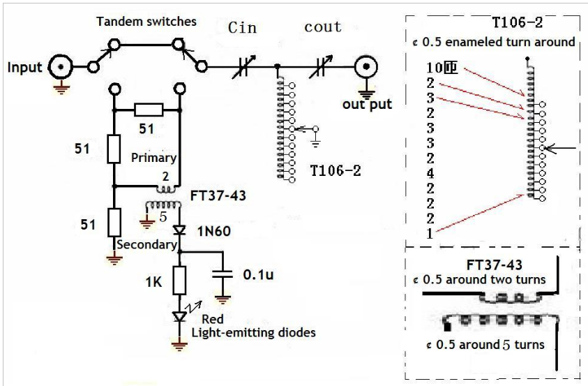 qrp manual antenna tuner 1