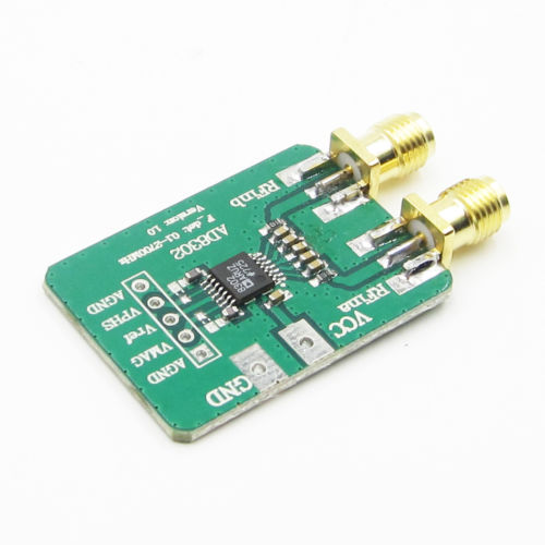 AD8302 Amplitude Phase RF Detector Module IF 0 to 2 7GHz