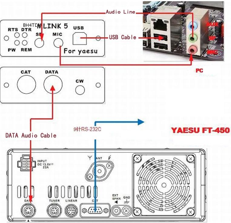 u5 link professional yaesu ft 817nd ft 857d ft 897d radio  yaesu ft 897 microphone wiring diagram #14