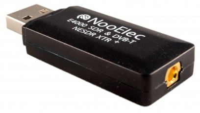 RTL2832U + Elonics E4000 Tuner NooElec NESDR XTR: Tiny RTL-SDR /& DVB-T USB Stick Low-Cost w//Telescopic Antenna /& Remote Extended-Range Software Defined Radio Compatible with Most SDR Software!